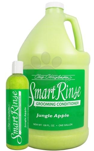 Chris Christensen SmartRinse Jungle Apple Conditioner - балсам за ефективна грижа при силно замърсена козина / ябълка / 59 мл.