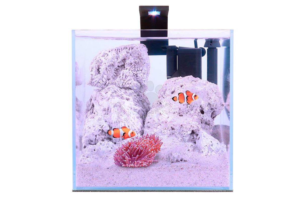 Collar Aquarium Set Nano Marine Set - морски аквариум с пълно оборудване, 22/22/22 см, 15 литра