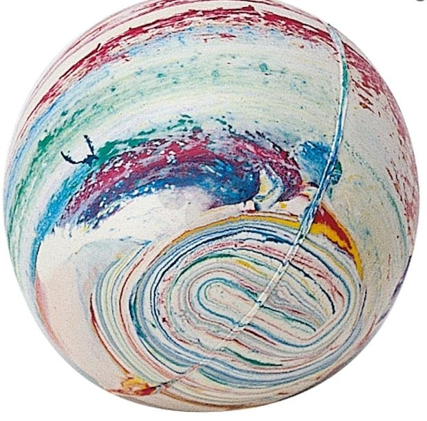 Ferplast - Rubber ball large hard pa6024 - твърда гумена топка  6.5 см.
