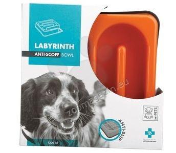M-Pets Labyrinth Slow Feed Square Bowl - купичка за лакоми кучета 25 / 25 / 5.8 см.