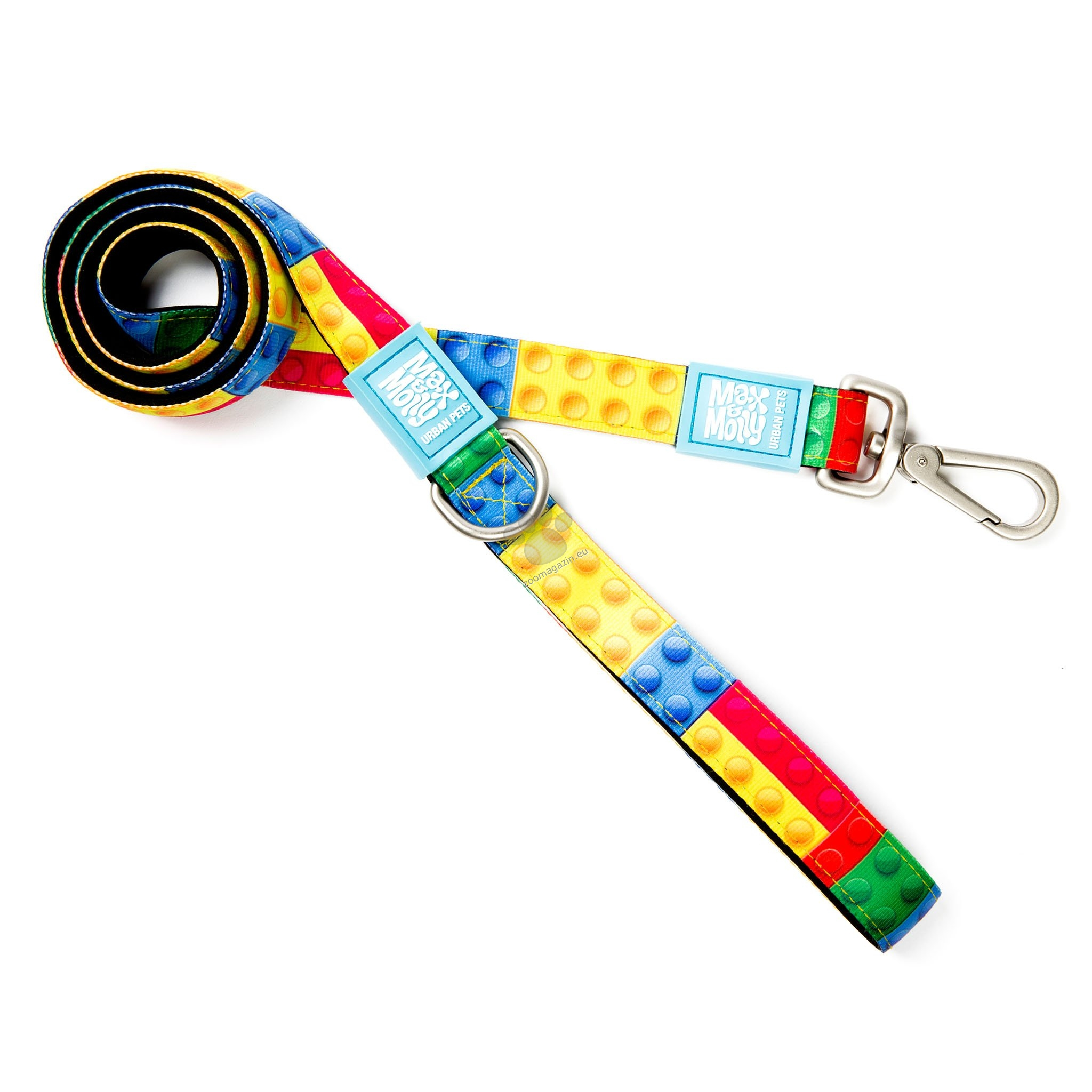 Max Molly Short Leash Playtime 2.0 S - повод 120 см. / 15 мм.