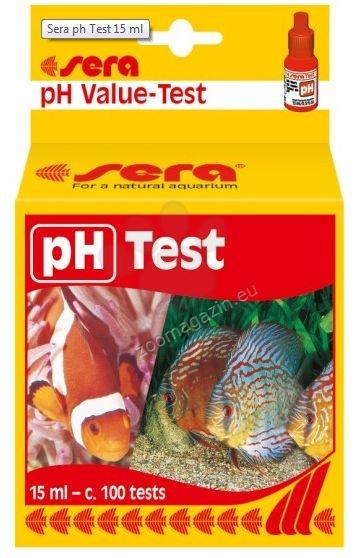 Sera - pH test - за точно определяне на pH на водата,може да се използва за около 80 измервания