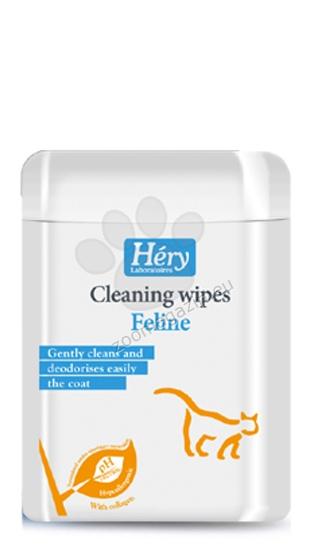Hery Feline Cleaning wipes -υγρά μαντηλάκια 25 τμχ