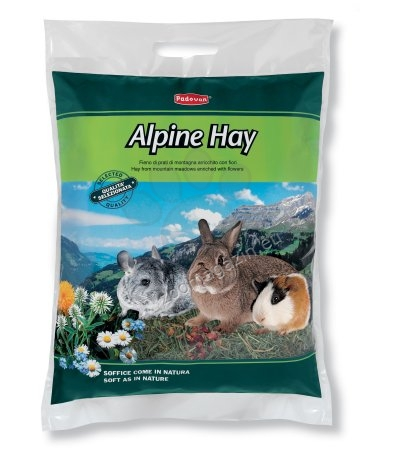 Padovan Alpine Hay - екологично чисто алпийско сено 700 гр.