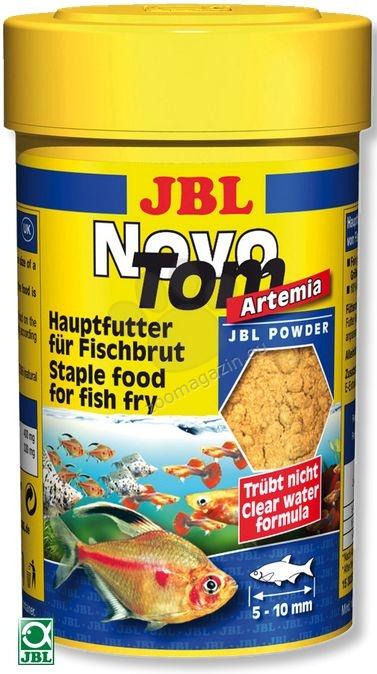 JBL NovoTom Artemia - прахообразна храна за подрастващи  100 мл.