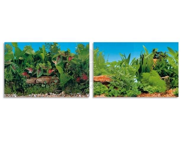 Ferplast - blu9046 - двулицев фон за аквариум 80 / 40 cm.
