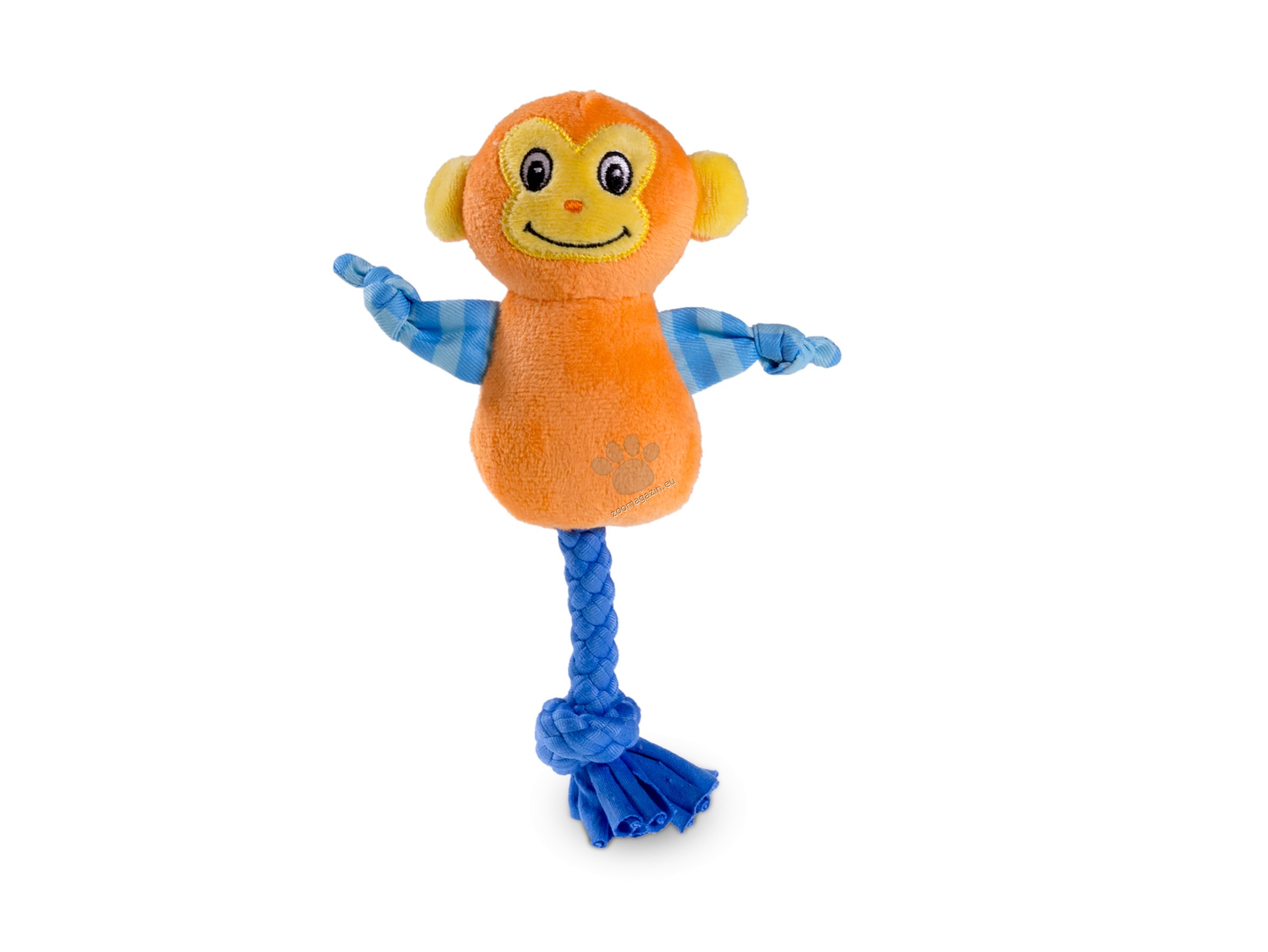 Vadigran - Dog Toy Mini Plush Monkey - кучешка играчка 20 см.