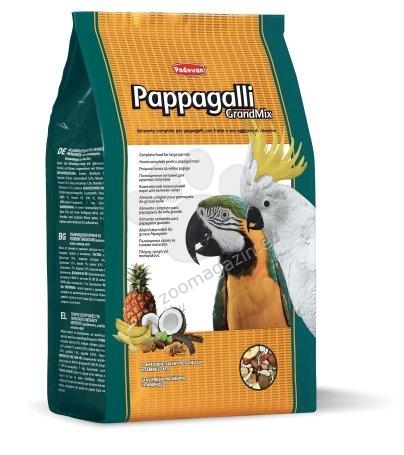 Padovan Grandmix pappagalli - пълноценна храна за големи папагали с плодове 2 кг.