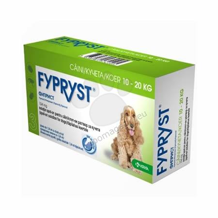 Fypryst 134 mg. - за кучета с тегло от 10 до 20 кг. / 3 броя пипети /