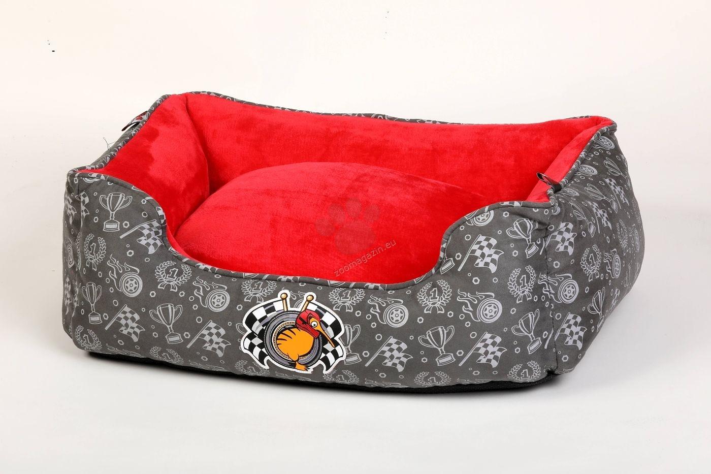 Kiwi Walker Bed Border Racer/Sailor XL - ортопедично легло с мемори пяна 95 / 65 / 26 см. / червен, син /