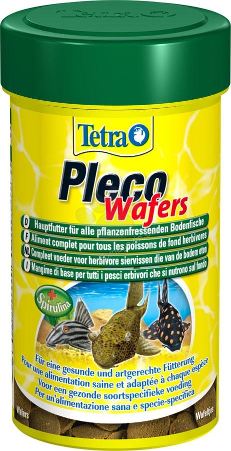 Tetra - Pleco Wafers - храна за дънни рибки 100 мл.