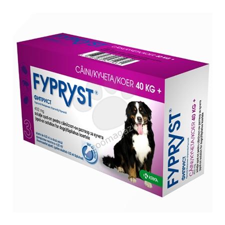 Fypryst 402 mg. - за кучета с тегло над 40 кг. / 3 броя пипети /