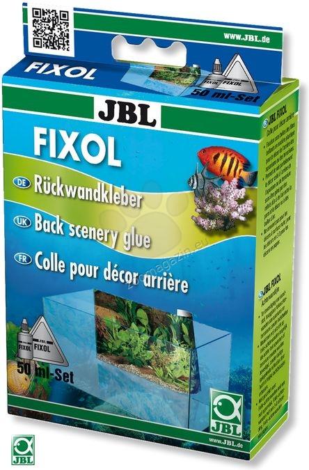 JBL Fixol - лепило за фон на аквариуми 50 мл.