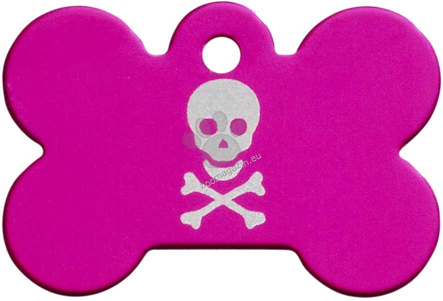 iMARC - Pink Pirate Skull Bone