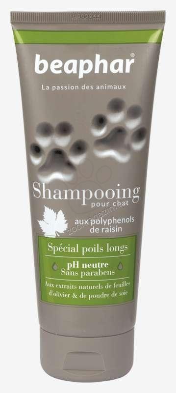Beaphar Shampoo olive leaf extract and silk  - шампоан за дългокосмести котки, с екстракт от маслинови листа и коприна 200 мл.