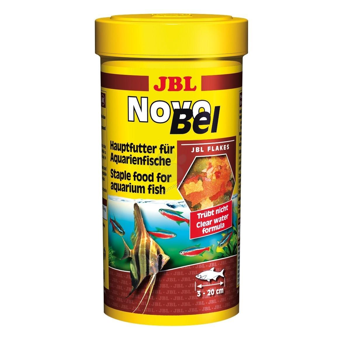 JBL NovoBel - основна храна за всички декоративни рибки  250 мл