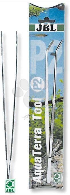 JBL Aqua Terra Tool P2  30 cm - пинсети с връх под ъгъл от неръждаема стомана