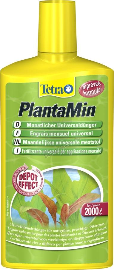 Tetra - PlantaMin - течен торен продукт за сладководни аквариуми 100 мл.
