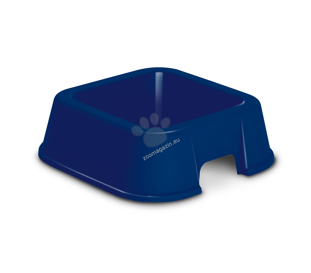 M.P.Bergamo Viola - пластмасова купичка за храна или вода / розова, синя / 27 / 27 / 9 см. 1500 мл