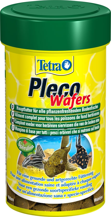 Tetra - Pleco Wafers - храна за дънни рибки 250 мл.