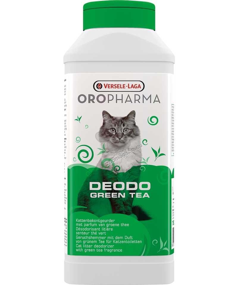 Versele Laga - Oropharma Deodo Odour Control Green Tea - дезодорант на прах за котешка тоалетна с аромат на зелен чай 750 гр.