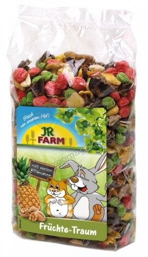 JR Farm Fruity Dream - плодова мечта, вкусно лакомство, съдържащо много тропически плодове и ядки 200 гр.
