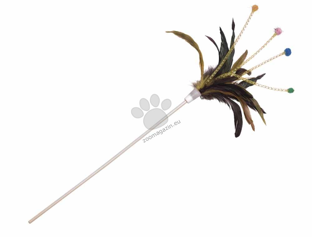 Nobby Fond with elastic threads - въдица с еластични нишки, пера и камбанки 47 см.