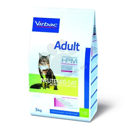 Virbac Adult Neutered Cat - пълноценна храна за кастрирани котки над 12 месечна възраст 3 кг.