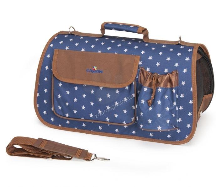 Camon Pet bag Stare and hearts - транспортна чанта 42 / 26 / 26 см.