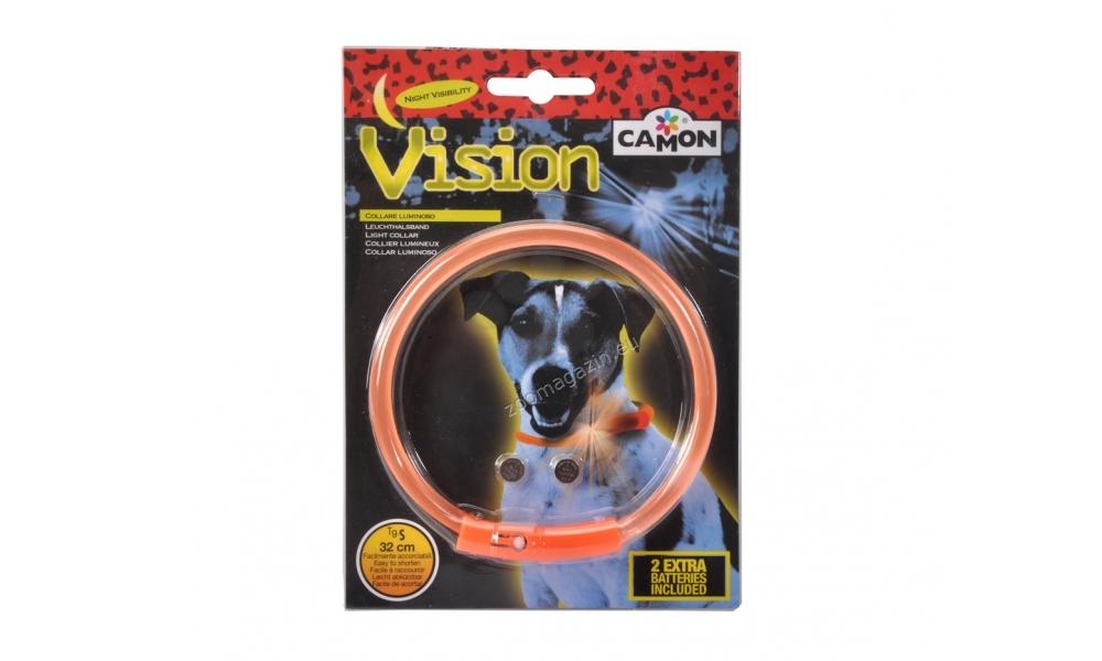 Camon Light collar - силиконов светещ нашийник 32 см.