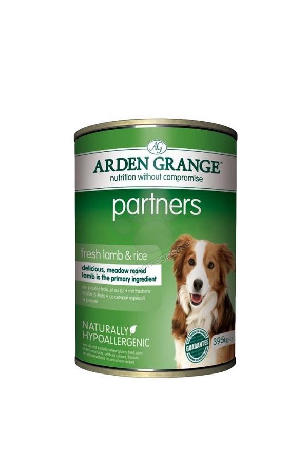 Arden Grange - Partners Lamb - с агнешко месо 395 гр.