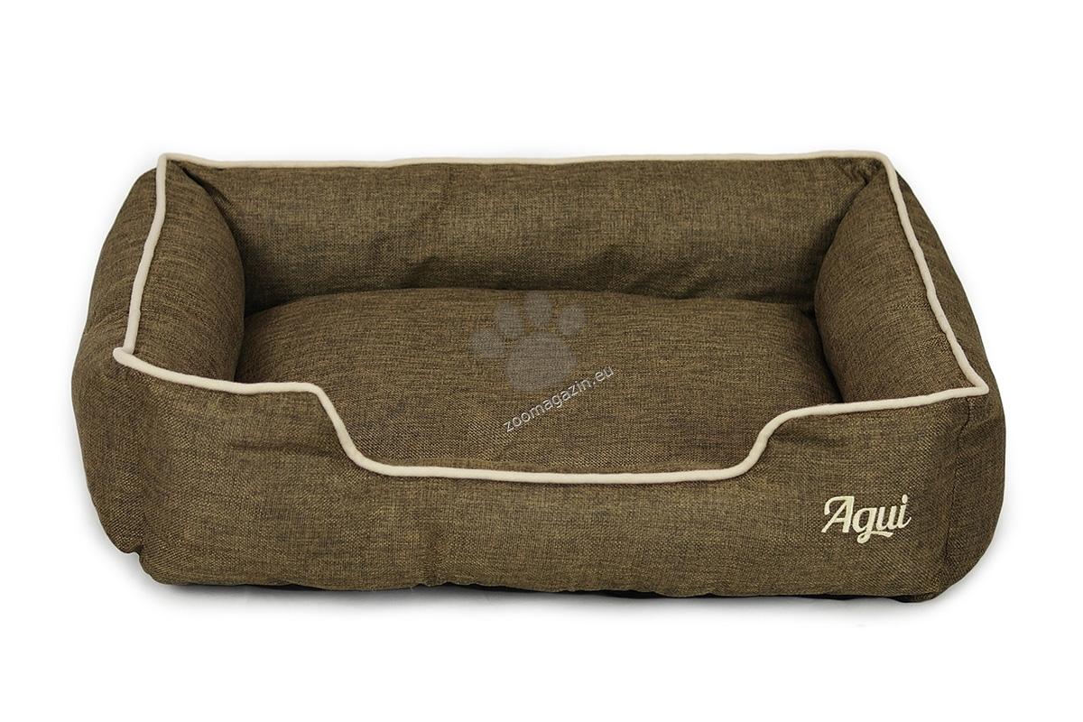Agui Nature Bed - луксозно меко легло 50 / 40 / 15 см. / сиво, кафяво, синьо, лилаво /