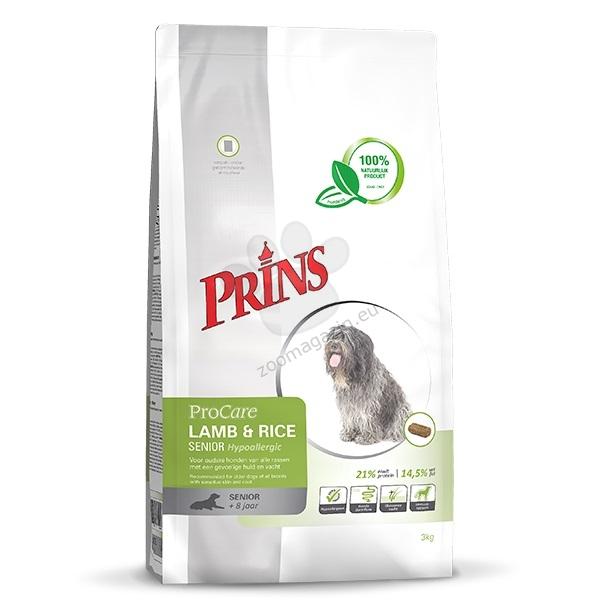 Prins ProCare Lamb & Rice Senior Hypoallergic - препоръчва се за възрастни кучета от всички породи с чувствителна кожа и козина 15 кг.