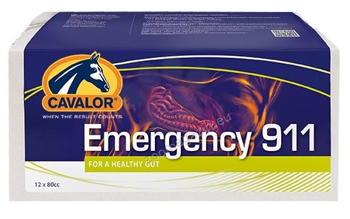 Cavalor Emergency 911 - първа помощ при колики 80 мл.