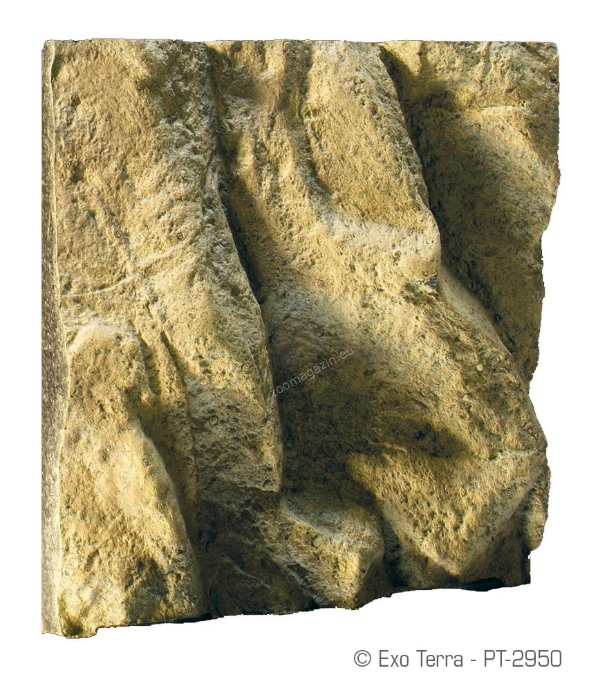 Exo Terra Rock Terrarium Background - πίσω υπόβαθρο για ερπετάριο με βράχο 30x30 cm pt2950