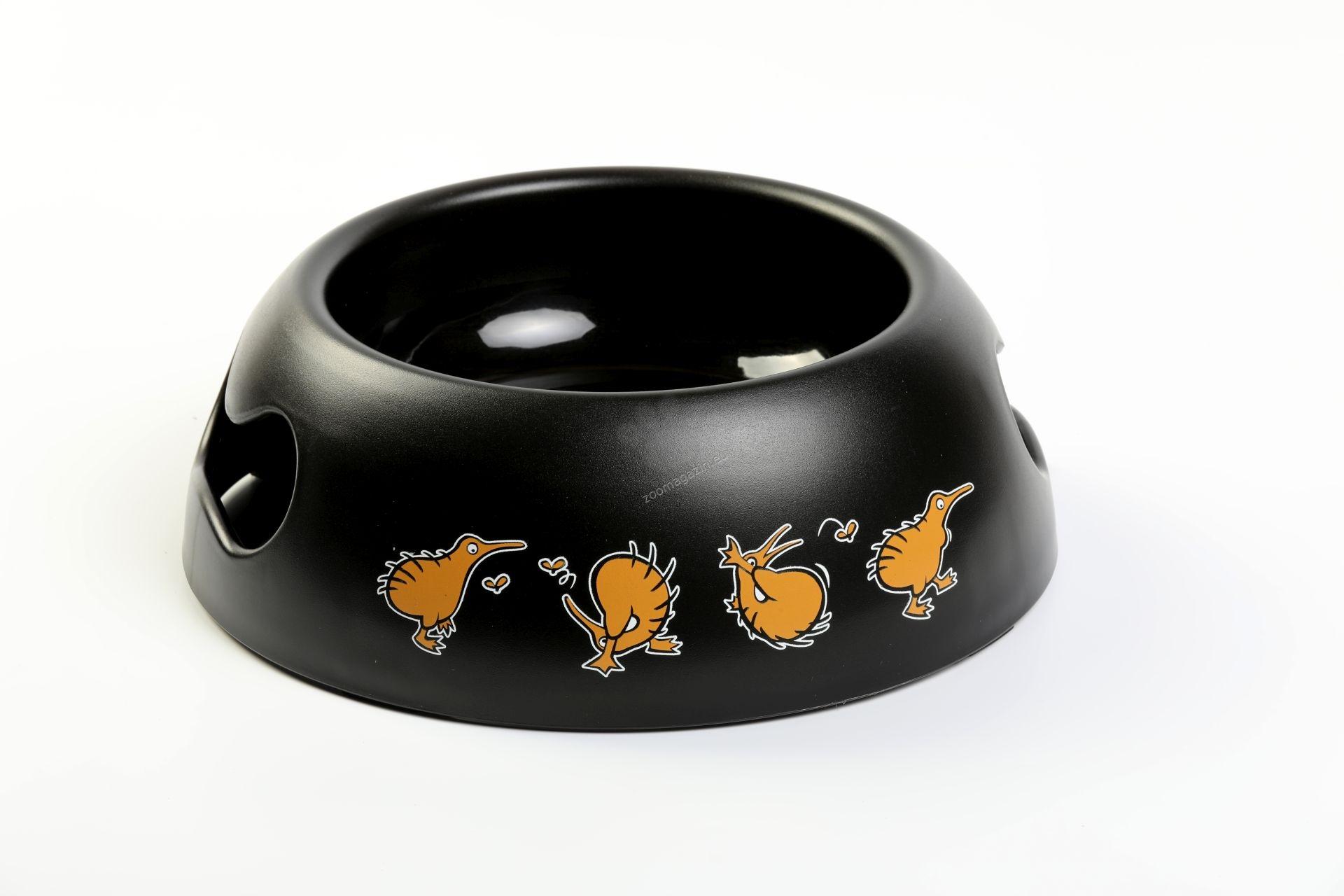 Kiwi Walker Black Bowl - дизайнерска купичка за храна или вода 750 мл. / оранжева, зелена, розова, синя /