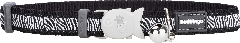 Red Dingo - Cat Collar Safari Black - котешки нашийник, 12 мм х 20-32 см