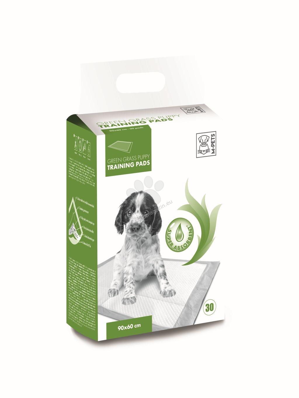 M-Pets Puppy Training Pads - подложки с аромат на трева 90 / 60 см., 30 броя