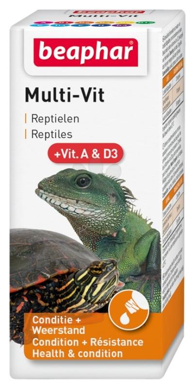 Beaphar - витамини за влечуги 20 мл.