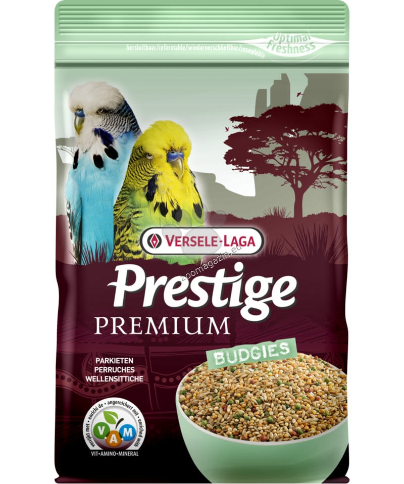 Versele Laga - Premium Prestige Small Parakeet - пълноценна храна за малки и вълнисти папагали 800 гр.