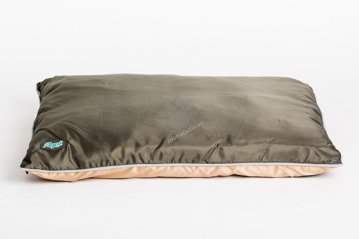Agui Waterproof Cushion - луксозен мек матрак 90 / 75 / 9 см. / зелен, черен /