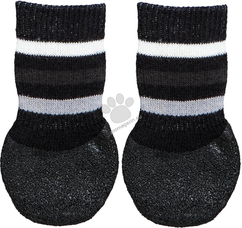 Trixie Dog Socks Black XL - чорапки 2 броя