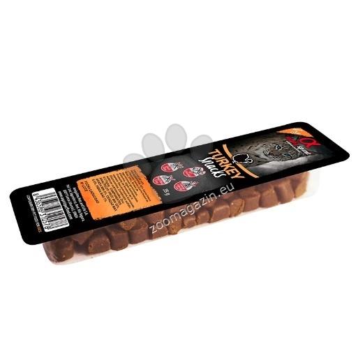 Alpha Spirit Cat Natural Snacks - хапки с пуешко месо 35 грама
