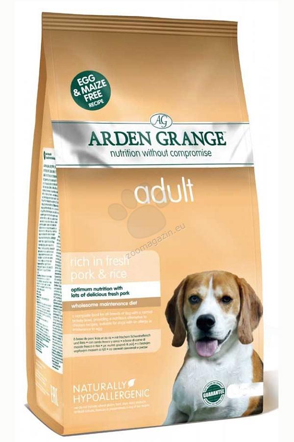 Arden Grange - Adult Pork - с прясно свинско месо, за кучета над 12 месеца 12 кг.