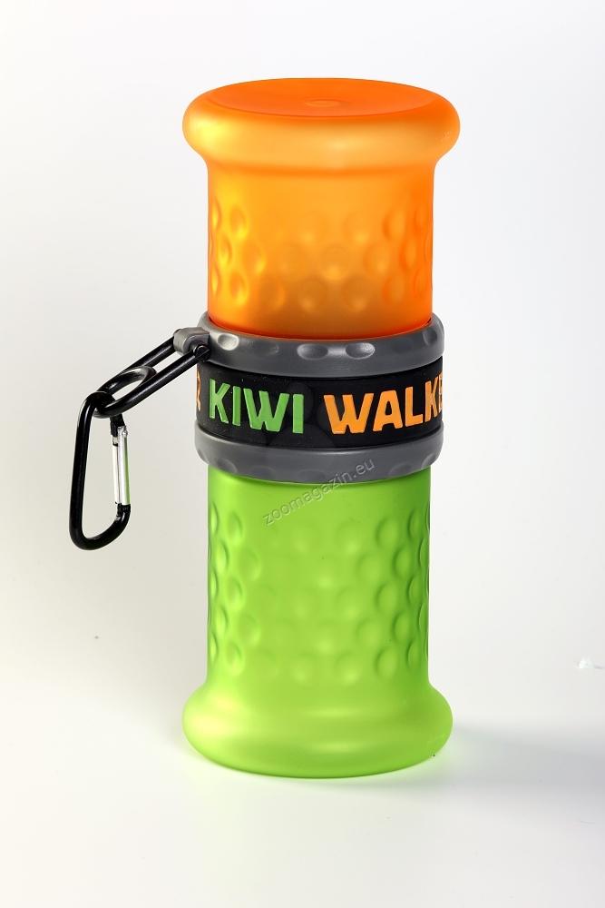 Kiwi Walker Travel Bottle - преносим контейнер за храна и вода 750 / 500 мл. / оранжева, розова /
