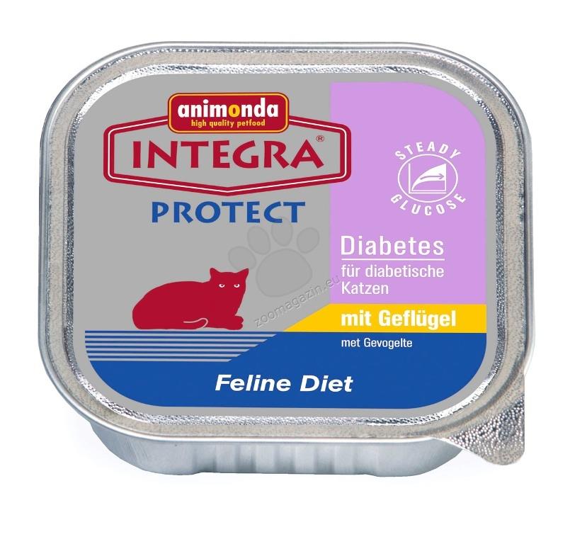 Animonda integra protect diabetes chicken – с пилешко месо, за котки със диабет 100 гр.