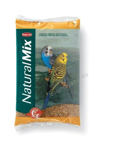 Padovan Naturalmix cocorite - специално селектирана смес за вълнисти папагали 1 кг.