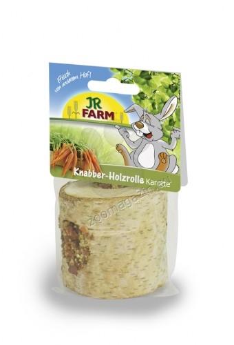 JR Farm Mr. Woodfield Nibble-Woodroll - дървен рол с пълнеж от моркови
