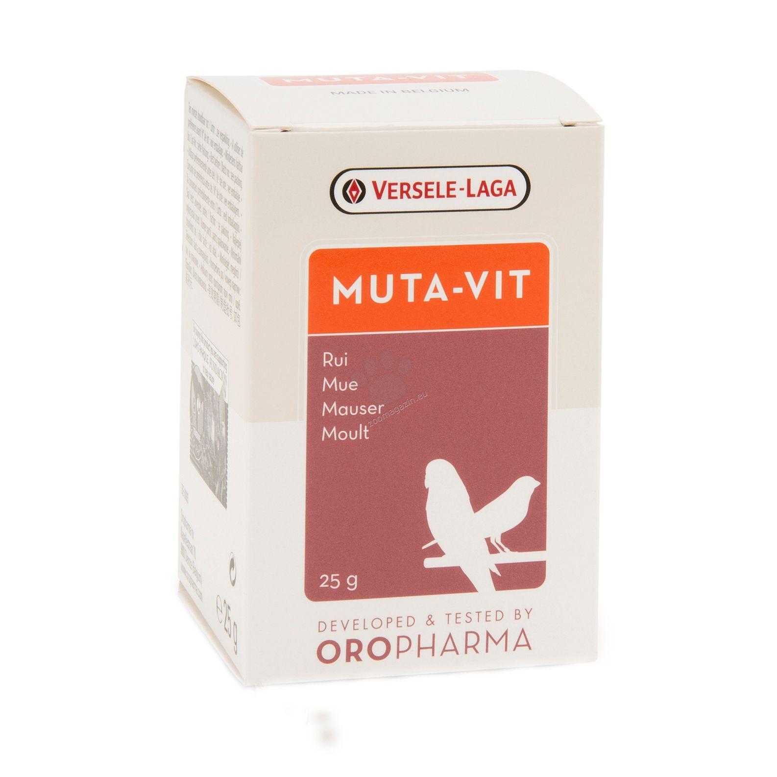 Versele Laga - Oropharma Muta - Vit - комплекс от витамини, аминокиселини и микроелементи за добро оперение  25 гр.