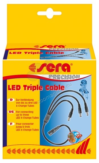 Sera - LED Triple Cable - разклонител за sera LED